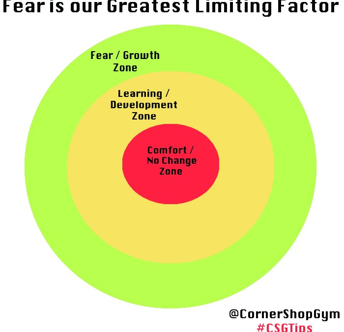Fear is THE Greatest Limiting Factor