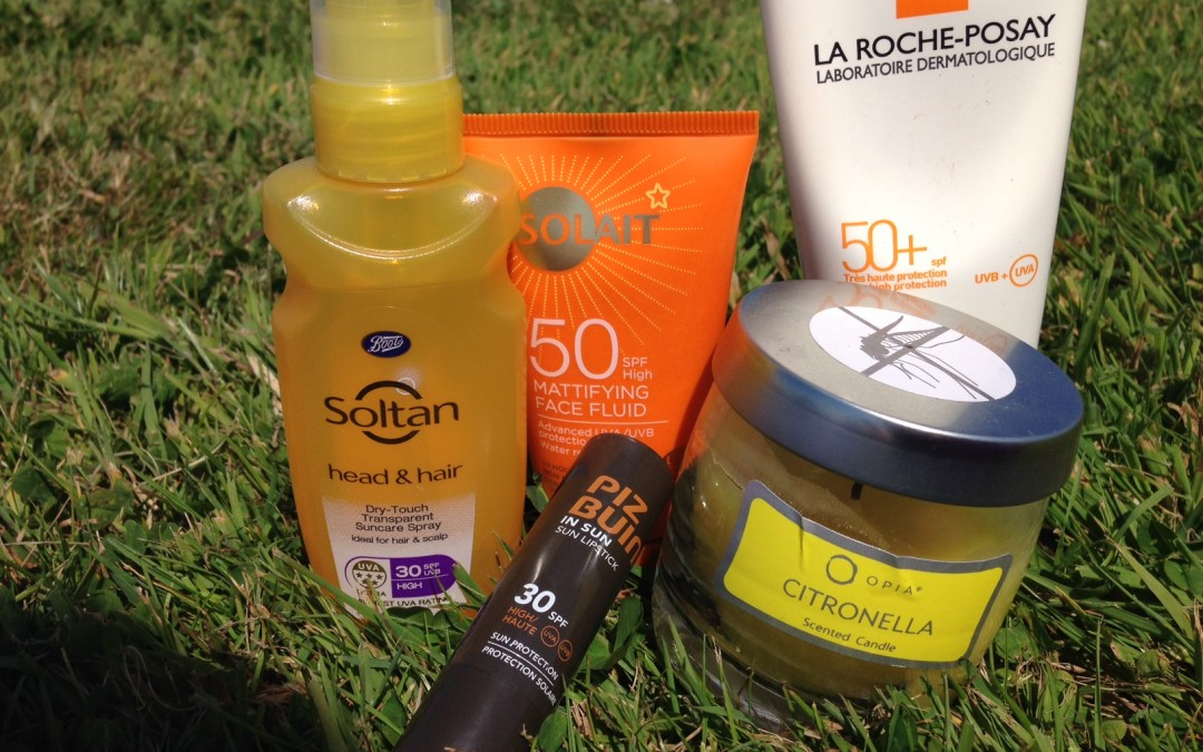 Exercise in the Sun – My Top 5 Products!