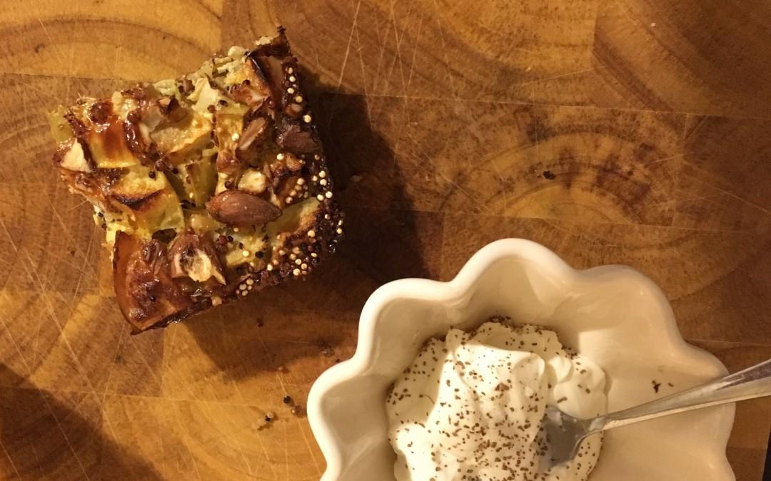 Eggy Quinoa Breakfast Bake