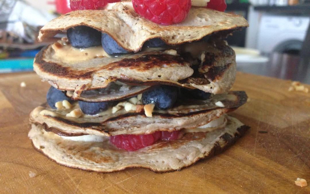2 Ingredient Healthy Pancakes