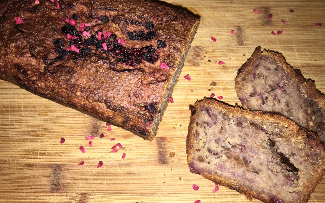 Peanut Butter Raspberry Bread from Roz