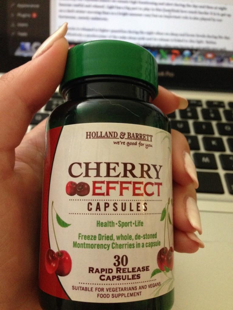 Cherry Capsules to boost Melatonin